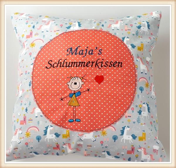 """Schlummerkissen Mädchen """"Einhorn"""""""