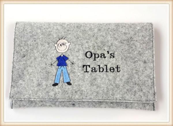 Tablethülle-Opa