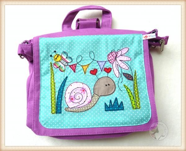 """Kindergartentasche """"Schnecke"""""""