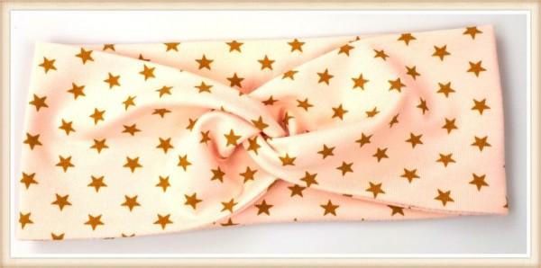 Haarband goldene Sterne