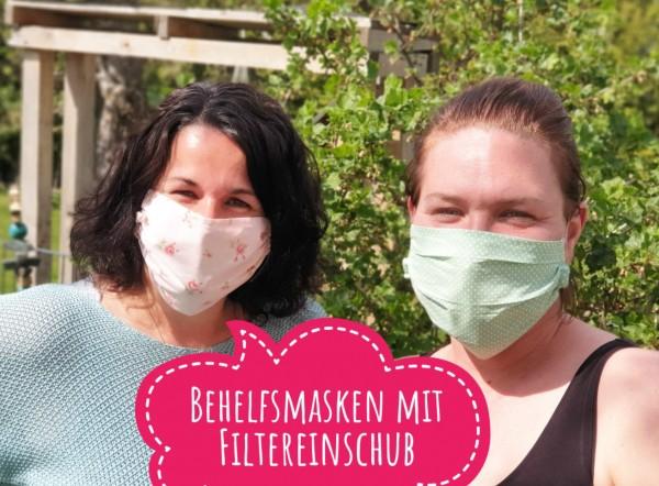 Behelfsmasken mit Filter