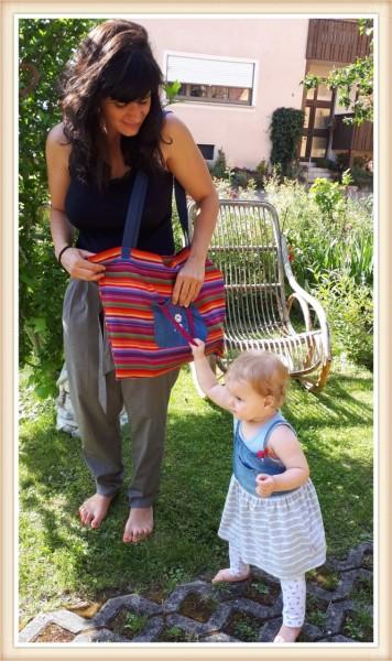 Mama-Kind-Tasche