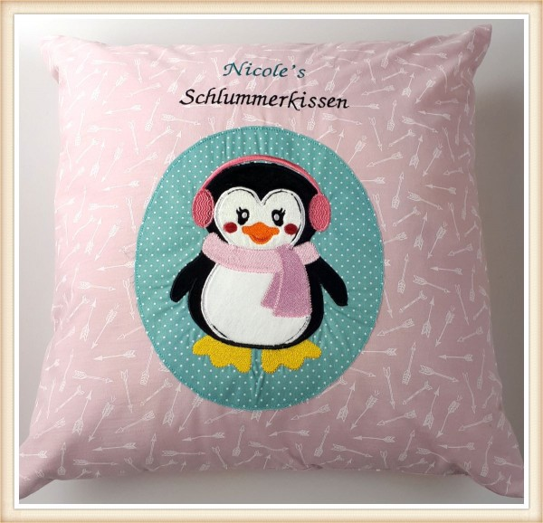 "Kuschelkissen ""Pinguin"""