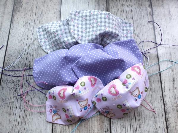 Gesichtsmasken für Kinder unbestickt