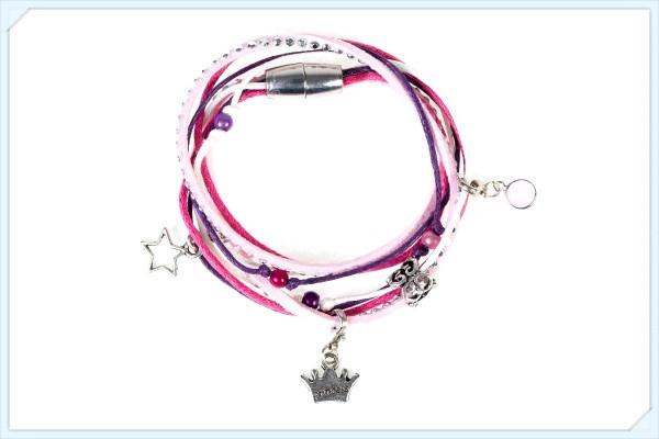 Die Klunkerdose:Prinzessin-Armband
