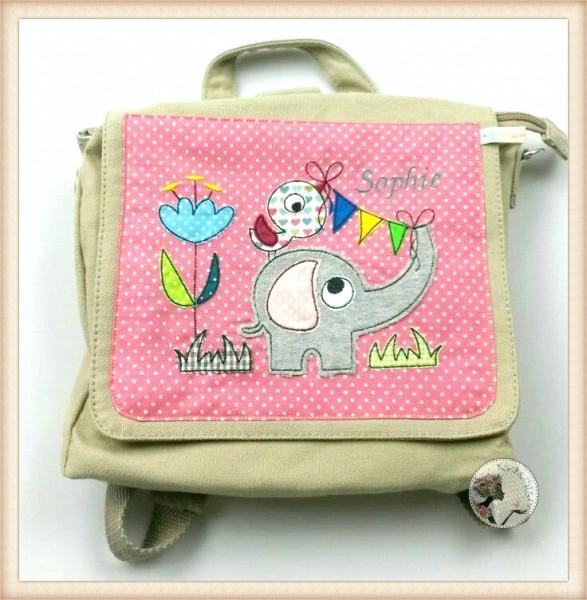 """Kindergartentasche """"Elefant"""""""