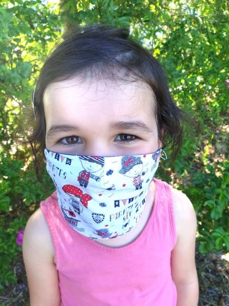 Nähpaket - Pirat: Gesichtsmaske für Kinder