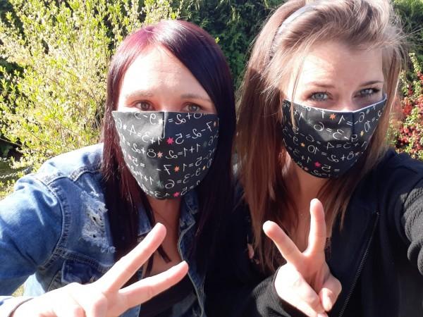 Gesichtsmasken für Schüler